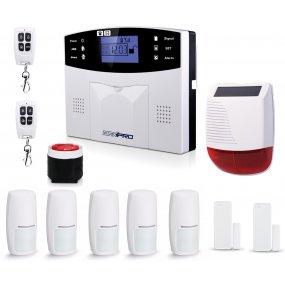Alarma Casa Inalambrica Kit3 Gsm 3g Completa Comercio + Cámara